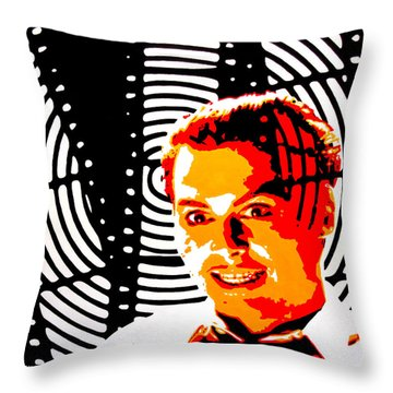 Let's Make A Picture Throw Pillow
