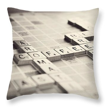 Let's Play A Game Throw Pillow