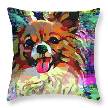 Let's Play Throw Pillow by Jon Neidert