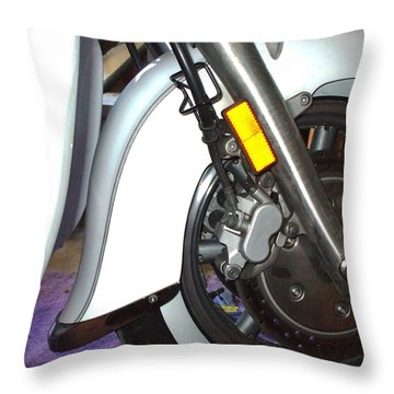 Throw Pillow featuring the photograph Lets Roll by Shana Rowe Jackson