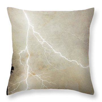 Let's Split Throw Pillow by James BO  Insogna