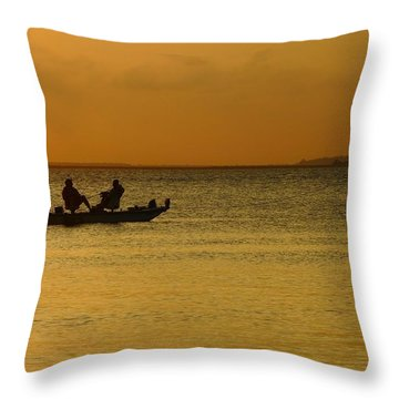 Throw Pillow featuring the photograph Let's Stay Awhile by Laura Ragland