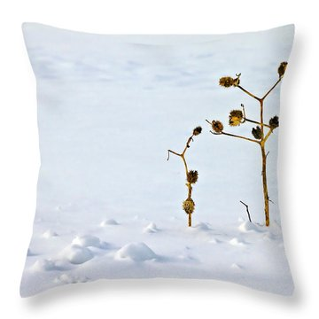 Let's Stick Together Throw Pillow by Evelina Kremsdorf