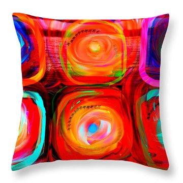Letter To Kandinsky  Throw Pillow