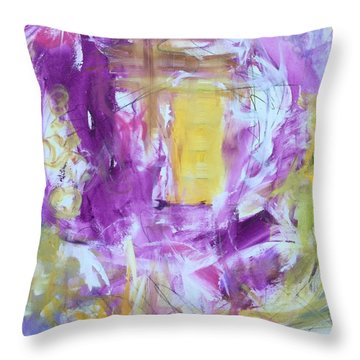 Letter To My Daughter Throw Pillow