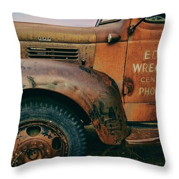 Lettering Throw Pillow