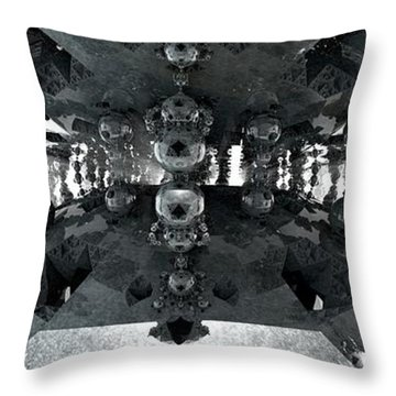 Letting In The Light Throw Pillow