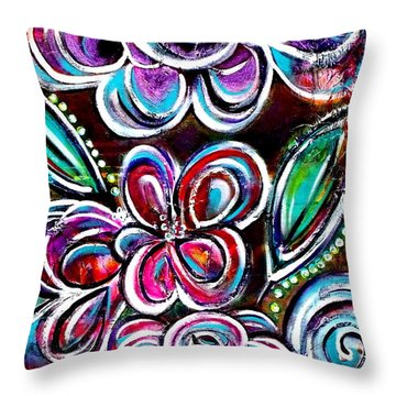 Letting Loose Throw Pillow
