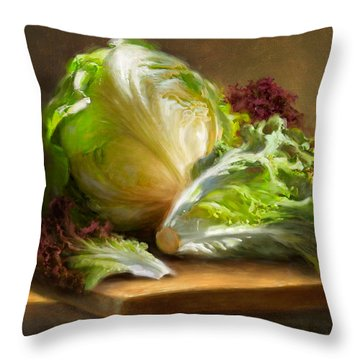 Lettuce Throw Pillows