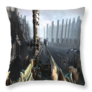 Level 3 Fuel Processing Throw Pillow