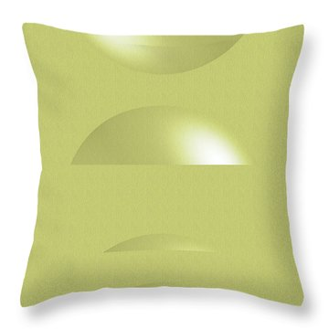 Levity Throw Pillow by Tom Druin