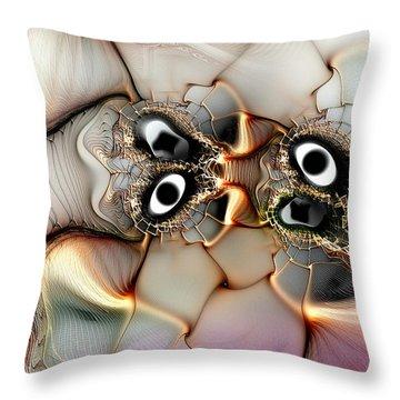 Lexicon Of The Visionary Throw Pillow by Casey Kotas