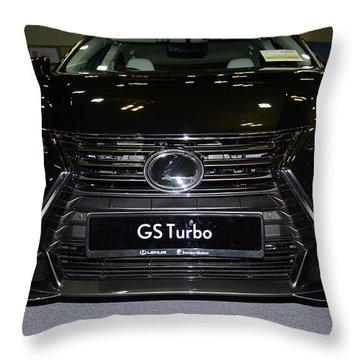 Lexus Gs Turbo Throw Pillow