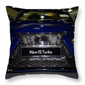 Lexus Is Turbo Throw Pillow