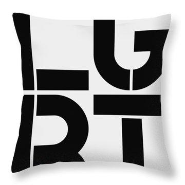 Lgbt Throw Pillow