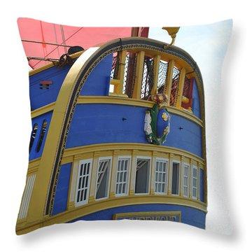 L'hermione Stern Throw Pillow