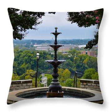 Libby Hill Park Throw Pillow