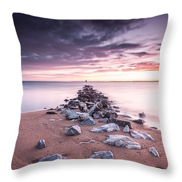 Throw Pillow featuring the photograph Liberate Inanimate Objects by Edward Kreis