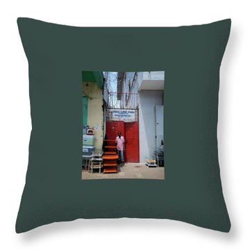 Liberian Lawyer Throw Pillow