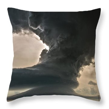 Liberty Bell Supercell Throw Pillow