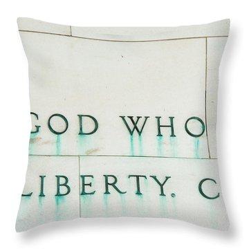 Liberty Throw Pillow