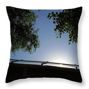Liberty Bridge Throw Pillow by Flavia Westerwelle