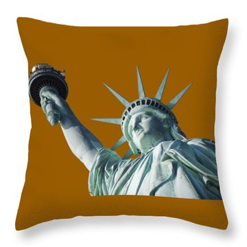 Liberty II Throw Pillow