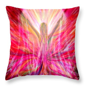 Liberty In My Heart Throw Pillow