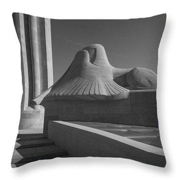 Liberty Memorial Kansas City Missouri Throw Pillow