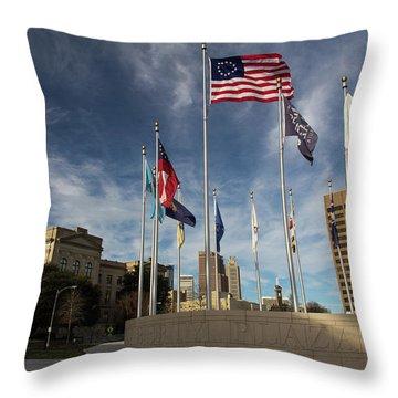 Liberty Plaza Throw Pillow