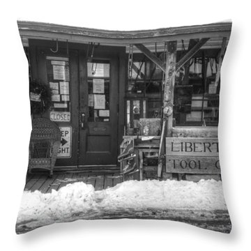 Liberty Tool Co Throw Pillow