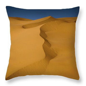 Libya Dunes Throw Pillow