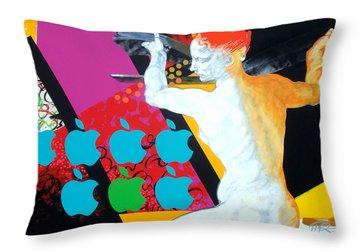 Libyan Throw Pillow by Jean Pierre Rousselet