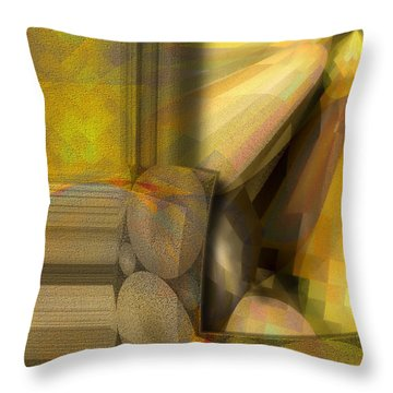 Lichtspiel Throw Pillow by Mimulux patricia No