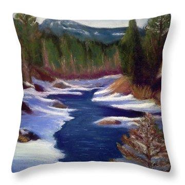 Licia's Painting Gratitude Throw Pillow