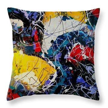 Life - A Bit Of Everything Throw Pillow