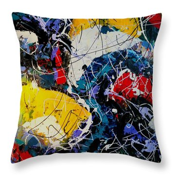 Life - A Bit Of Everything Throw Pillow
