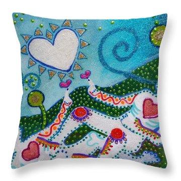 Life After Life #2 Throw Pillow