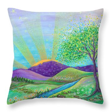 Love And Life Throw Pillow by Tanielle Childers