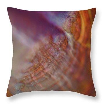 Life At Sea Throw Pillow by Rona Black