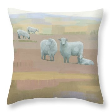 Life Between Seams Throw Pillow by Steve Mitchell