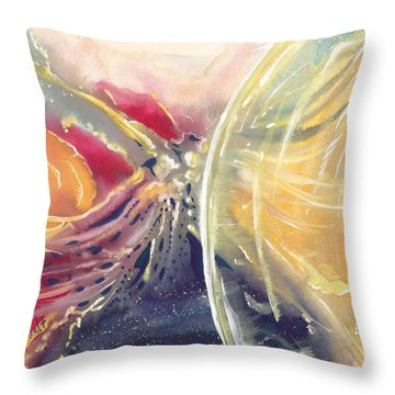Life Everafter Throw Pillow