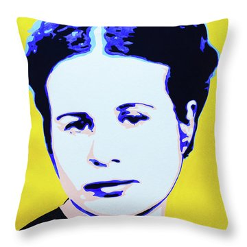 Life In A Jar. Irena Sendler Throw Pillow