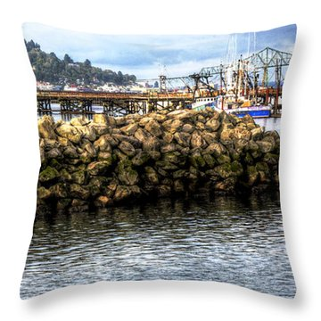 Life In Astoria Throw Pillow