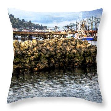Life In Astoria Throw Pillow