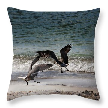 Life In Flight Throw Pillow