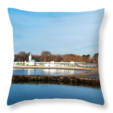 Life In Rye Throw Pillow
