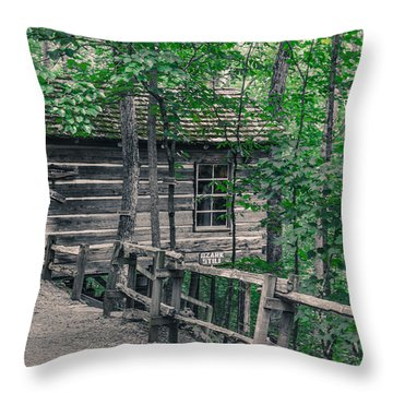 Life In The Ozarks Throw Pillow