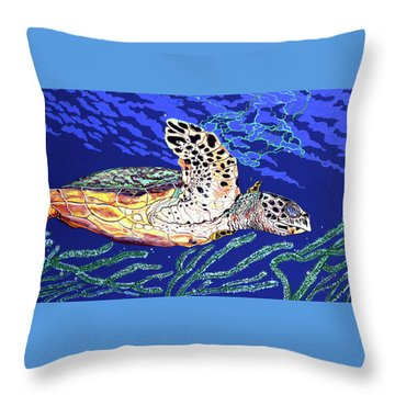 Life In The Slow Lane Throw Pillow