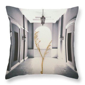 Life Inside  Throw Pillow
